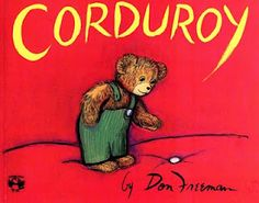 Corduroy.. One of my childhood favorites.. He wasn't overlooked because of his imperfections :)