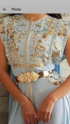 Romeo haute couture.. Moroccan Caftan Oriental Fashion, Indian Fashion, Moroccan Caftan, Embroidery Dress, International Fashion, Couture Dresses, Fashion Sketches, Fashion Outfits, Womens Fashion