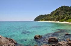 Senoa island, Natuna islands, Indonesia