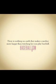 Baseballism or when her Daughter plays!!! And maybe some other things but not really