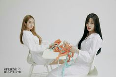 Photo album containing 86 pictures of GFRIEND Korean Girl Band, Korean Girl Groups, South Korean Girls, Extended Play, Gfriend Album, Gfriend Yuju, Fandom, G Friend, Korean Singer