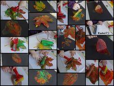 """Printing leaves from Rachel ("""",)"""