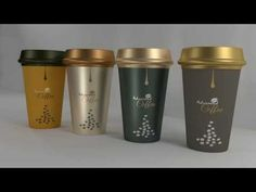 TUTORIAL Illustrator CC - COFFEE CUPS 3D DESIGN - speed art - visual and digital…