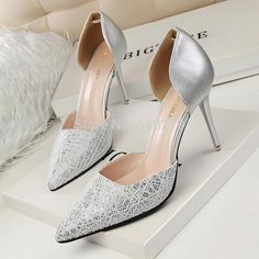 7242d1f3ed07 Fashion Shoes Woman High Heels Women Pumps Stiletto Thin Heel Women s Shoes  D Orsay Pointed Toe Heeled Party Dress Wedding Shoes