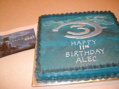 Image result for halo birthday cake