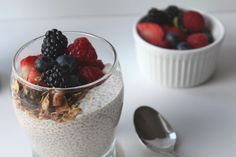 Chia Seed Breakfast Parfait