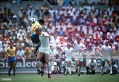 Football 1970 World Cup Finals Guadalajara Mexico June England 0 v Brazil 1 England captain Bobby Moore challenges Brazil's Jairzinho for the. 1970 World Cup, Fifa World Cup, Pure Football, Football Team, Bobby Moore, Good Soccer Players, England Football, World Cup Final, Stock Pictures