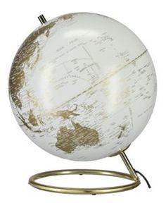 Valaistu karttapallo