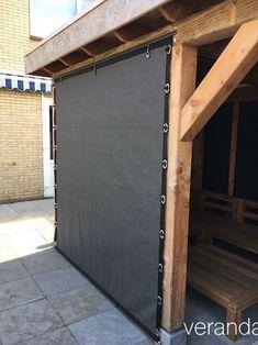 nu veranda rows of HDPE verandazeilen.nu Porch sail out verandazeilen.nu veranda rows of HDPE verandazeilen.nu Veranda sail from HDPE The post verandazeilen.nu veranda rows of HDPE Pergola Patio, Pergola Screens, Pergola Carport, Modern Pergola, Backyard Patio Designs, Backyard Landscaping, Patio Ideas, Terrace Ideas, Carport Garage