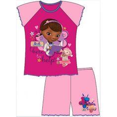 Pyjama court Docteur la peluche (Doc Mcstuffins)