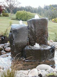 Water feature ideas for Landscape Design