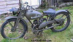 1943 James 125cc two stroke