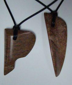 Soapstone pendants by darkangel-81a.deviantart.com