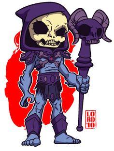 Lil Skeletor by lordmesa on DeviantArt