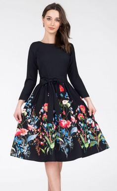 bc0b38d5f6 Sukienka MARIE 3 4 Midi Malwina Romance