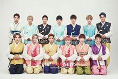 CHUSEOK - hanbok #seventeen #kpop