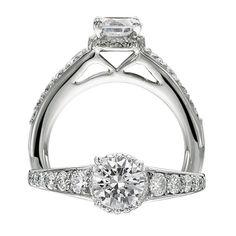 Ritani Bella Vita Engagement Ring Style 1R3721BR