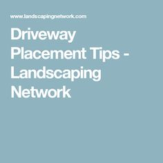 How to Build a Driveway Apron Driveways Apron and Driveway ideas