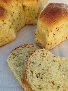 Pan dulce anis,naranja y aceite