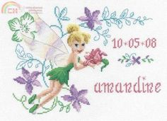 tinkerbell cross stitch pattern to print | Cross Stitch,cross-stitch,Cross stitch patterns download,Needlework ...