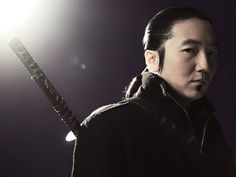 Future Hiro Nakamura from Heroes. While the actor Masi Oka was a skilled kendo practitioner, the future version of Hiro was a master in battojutsu (also called iaido)... quickdraw swordplay. Some of the YouTube videos of this form of swordfighting are pretty amazing.