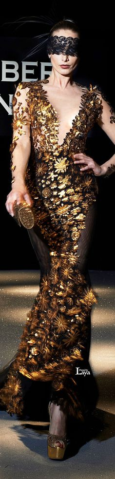 ROBERT ABI NADER S/S 2013 Couture