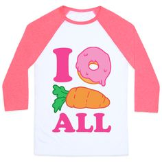This funny food shirt is great for every sarcastic teen who loves food, donuts and maybe sometimes carrots, but only in order to make a great food pun. I don't care at all or I donut carrot all. This sarcastic shirt is great for fans of food jokes, food quotes, food shirts, donut shirts, donuts, funny food, puns and sarcasm. | HUMAN