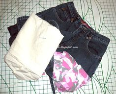 Creating my way to Success: Upcycled jeans to gift bag in My Creative Space