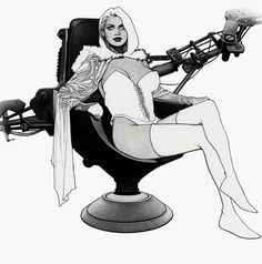 alexhchung:  Emma Frost by Travis Charest