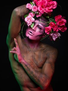 """Photographer And Performance Artist Want To Change The Notion Of Gender StandardsPhotographer Indrek Galetin writes: """"I photographed performance artist Imma to change the notion of gender..."""