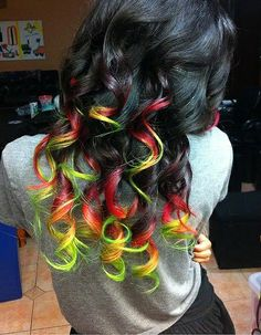 # Hair Color Ideas 2014 I think I am going to grow my hair back out so I can do this Love It.