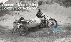 Dot Robinson Motor Maids Women in Motorcycling Legend - MOTORESS Woman Motorcycle Enthusiast