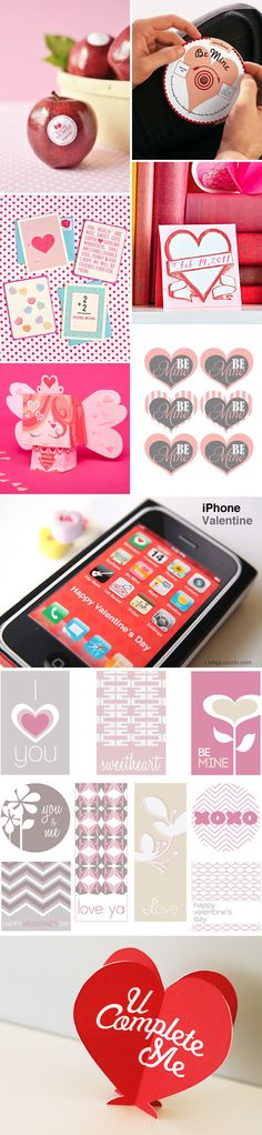 Made the iPhone valentines last year. They kids really liked them