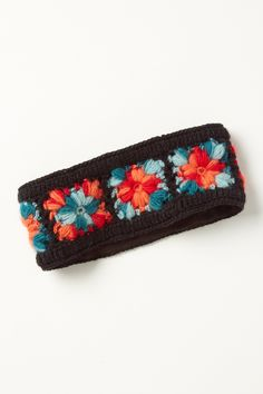 Cozy Crochet Earband - Anthropologie.com $28 granny square-ish earband @Amanda Becker