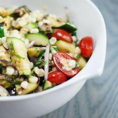 zucchini salad grilled eggplant and zucchini salad grape tomatoes ...