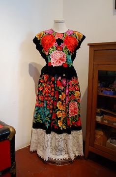 One of Frida Kahlo's dresses