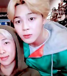 Jimin ♡   [V LIVE] RM live!