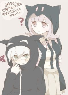 Chiaki and Nagito