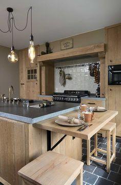 rustieke retro keuken