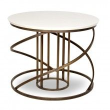 Circular Table with coil base