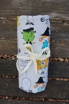 Be Spooky Fitted Crib/Toddler Sheet by SunKissedPoppy on Etsy,  Little monsters need spooky sheets!