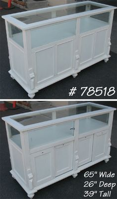 display counter - Would like better in unpainted dark wood stain/distressed.