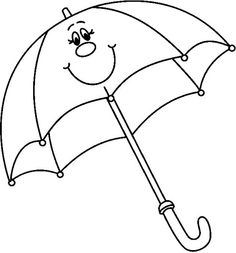 Printable Umbrella Coloring Page Kids Coloring Pages Coloring