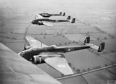 gunner's view of a formation of Hampdens of No 14 Operational Training Unit (OTU), based at Cottesmore, 23 July File:Royal Air Force Bomber Command Air Force Aircraft, Navy Aircraft, Ww2 Aircraft, Military Helicopter, Military Aircraft, Royal Australian Air Force, Ww2 Planes, Battle Of Britain, Royal Air Force