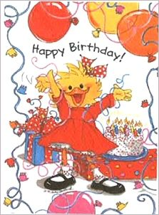 Suzy Zoo Birthday Cards | Suzy's Zoo Birthday Bash Gift Enclosure Card: MilliaKids.com
