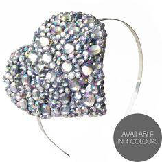 Crown and Glory Hair Accessories — Liberace Heart Headband