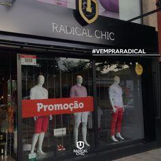 Já deu uma passadinha aqui na Loja Radical Chic essa semana? Estamos com várias promoções e ofertas para você aproveitar e renovar seu visual 👍 Estamos na Av. Carlos Chagas, 170, Cid. Nobre em Ipatinga ;) #RadicalChic #TodaHoraÉ #Ipatinga #VemPraRadical  #ModaMasculina