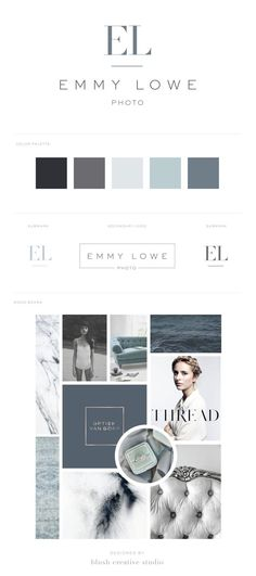 & Bea Branding + Website Design I love the simplicity of the design and all of these colors. It feels high end without being stuffy.I love the simplicity of the design and all of these colors. It feels high end without being stuffy. Web Design, Website Design, Design Logo, Brand Identity Design, Design Cars, Graphic Design Branding, Brochure Design, Blog Logo, Boutique Logo
