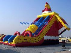 Big Rooster Inflatable #Slide