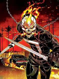 New teenage Ghost Rider gets a 69 Dodge Charger!